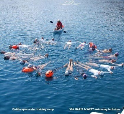 Flotilla open water training camp 2015
