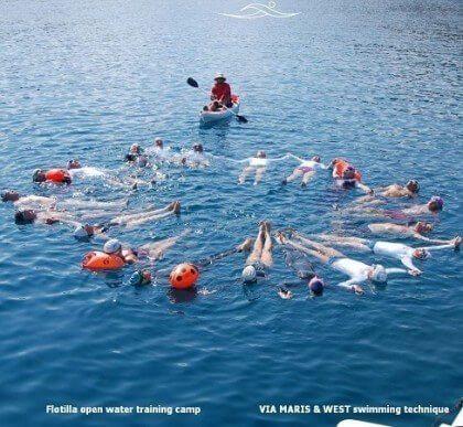 Flotilla open water training camp 2015