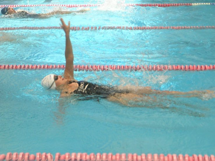 Learn to swim backstroke - step by step instructions for ...